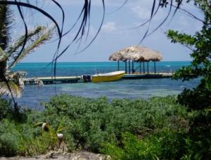 Boat at Calypso Beach